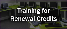 Training for Renewal Credits